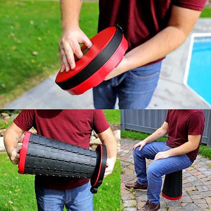 40... Ikuram Portable Rétractable Pliable Camping Tabouret télescopique Siège charge max