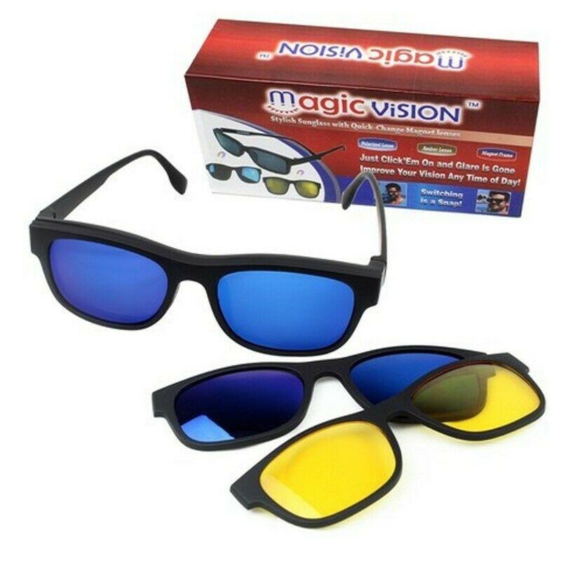 Lunettes de Soleil Magic Vision 3 en 1 - eshray - Boutique en ligne pour  l'électronique, les vêtements, les gadgets, et plus